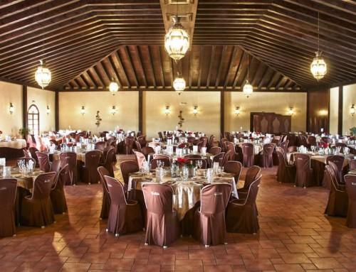 Banquete en la sala beleuchtet